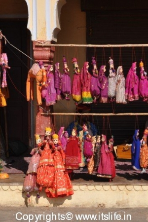 Puppets in Rajasthan