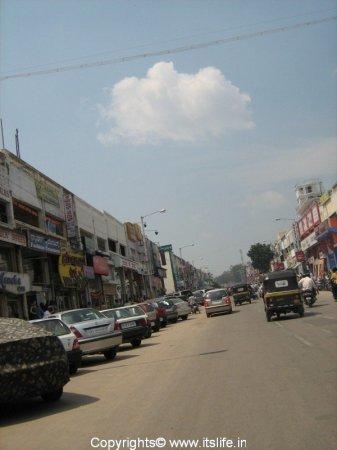 Devaraja Urs Road Mysore