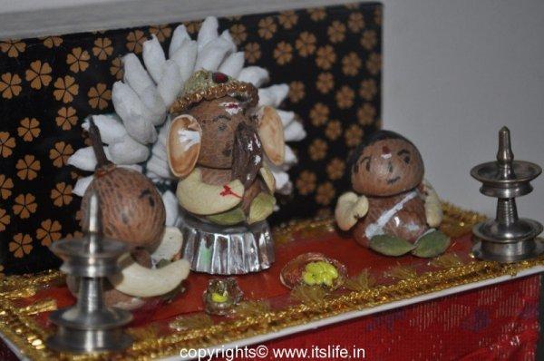Betel Nut Ganesha