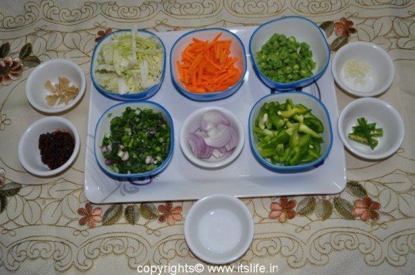 Schezwan Rice