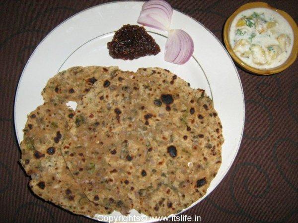 Kasoori Methi Paratha