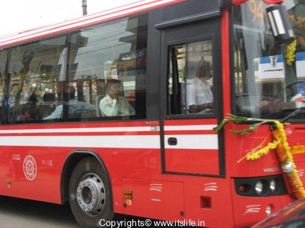 Volvo bus - Bangalore