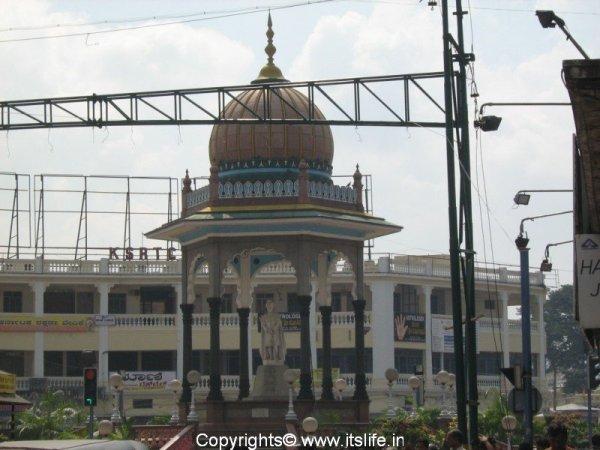 Krishna Raja Circle Mysore