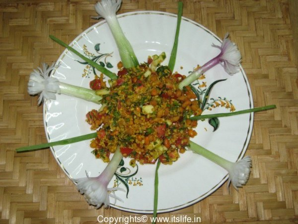 Moong Dal Salad
