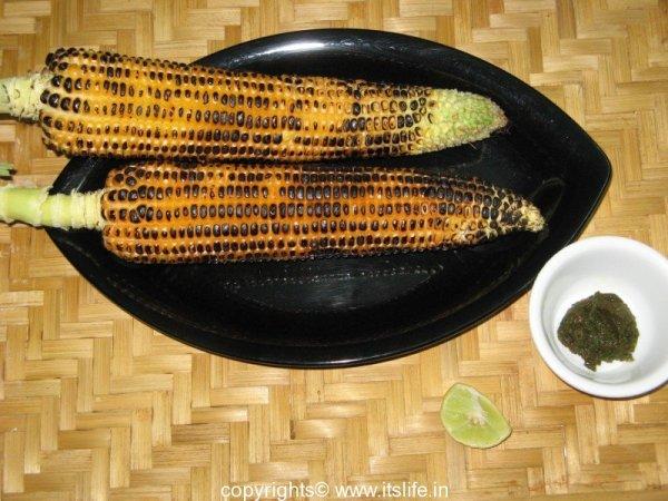 Bhutta - Roasted Corn