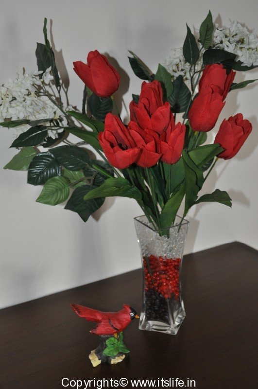 Tulips arrangement