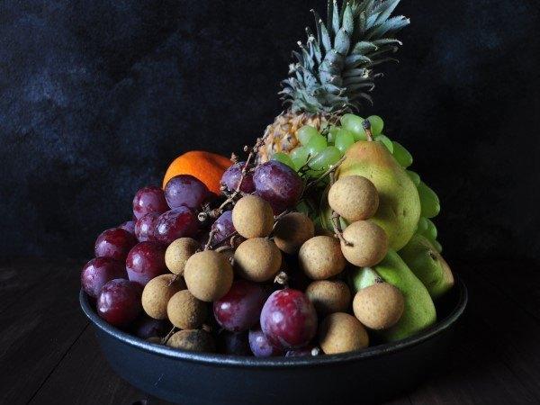 Late monsoon fruit arrangement