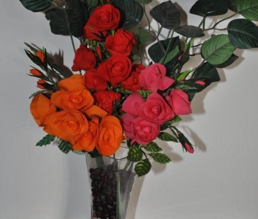 Polyester Rose