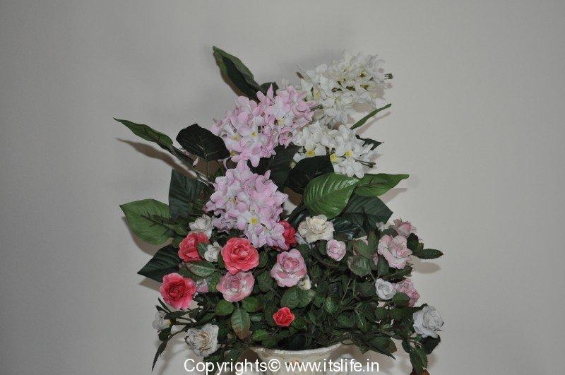 Flower arrangement freestyle hobby