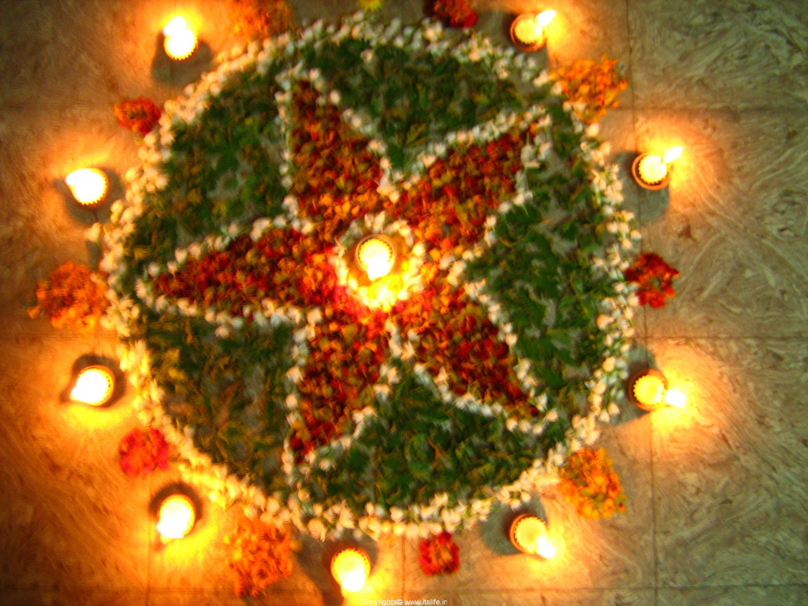 Rangoli designs for Diwali and