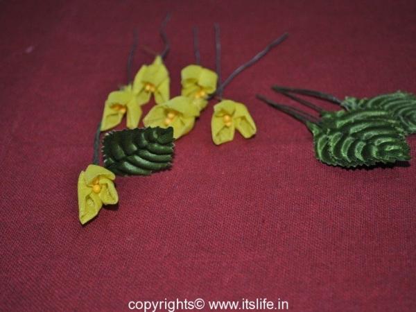 Organdy Flowers