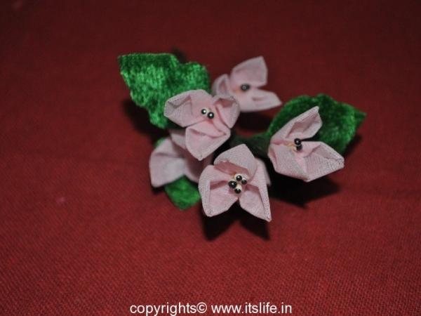 Organdi flowers