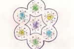 Flower Bunch Rangoli
