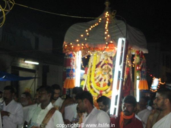Goddess Sharada Utsava, Sringeri