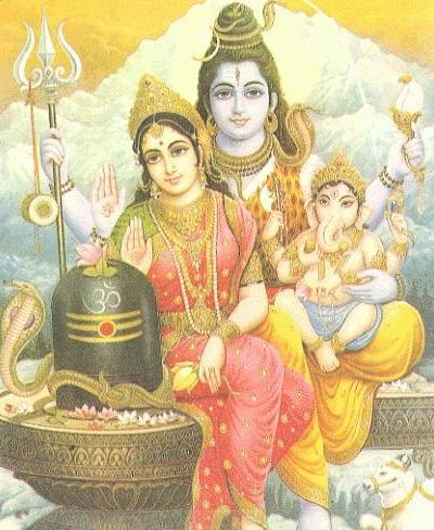 Shiva Parvathi Ganesh
