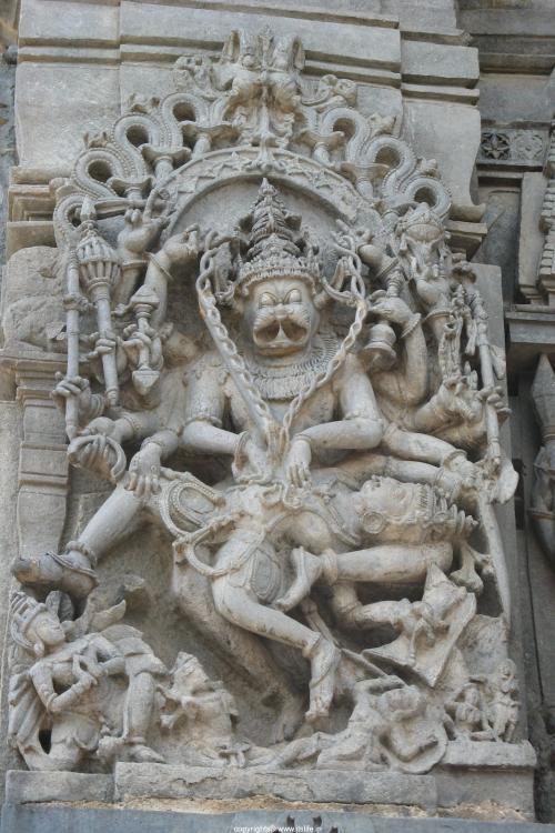 Lord Narasimha Stone Sculpture