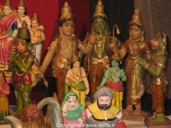 Dasara Gombe - Rama Sita