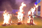 Ravana Firecrackers Dasara