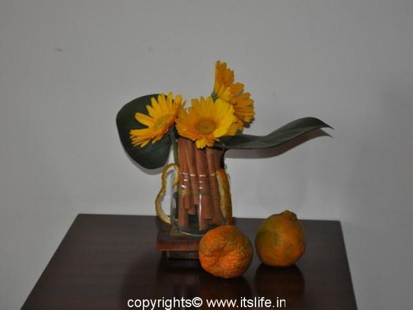 Spicy Flower Arrangement