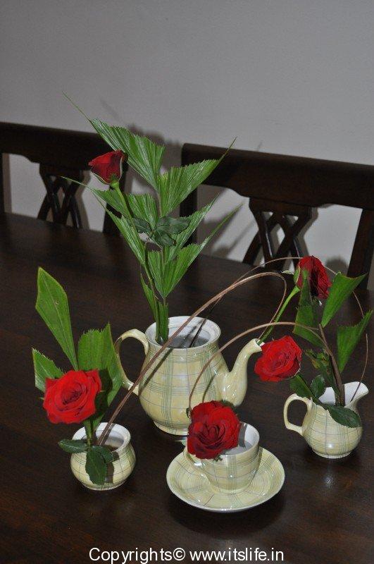 Flower arrangement ikebana hobby for Do it yourself flower arrangements