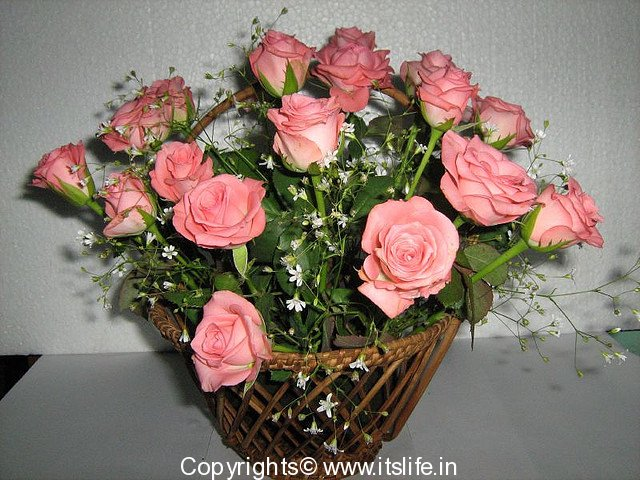 Flower arrangement introduction to arrangements