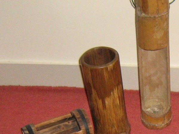 Bamboo Flower Containers