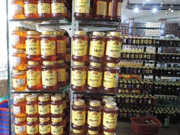 Honey bottles
