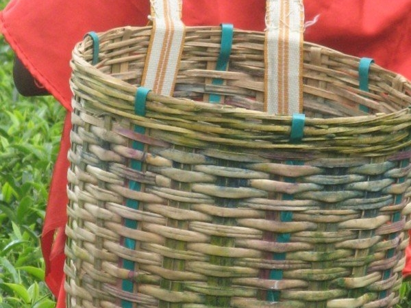 Tea Leaves Basket