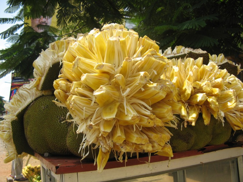 how to cut jackfruit in tamil