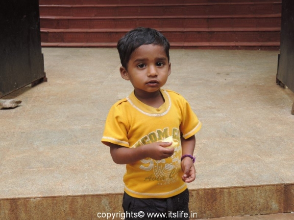 Cute boy from Yercaud