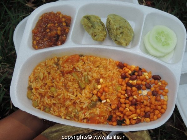 Traditional Mysore Dishes Platter