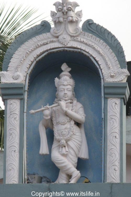 Lord Krishna in a dancing pose