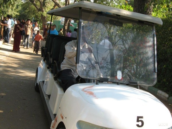 Electric Van - Mysore Zoo