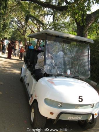 Electric Van - Mysore Zoo