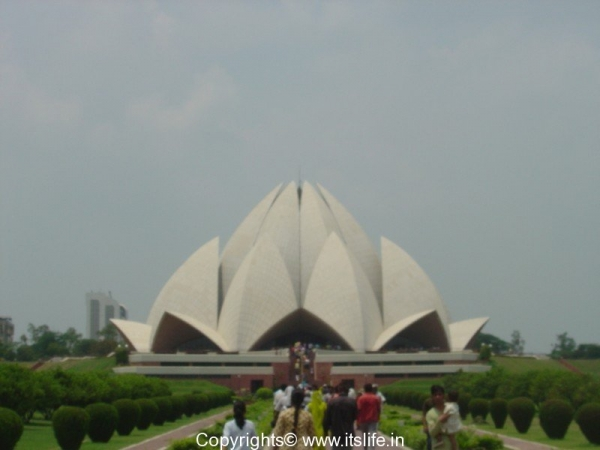 Bahai house of worship