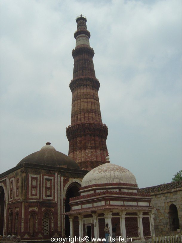 Qutub minar is the tallest islamic tower in india it has been