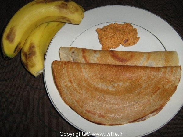 Banana Dosa