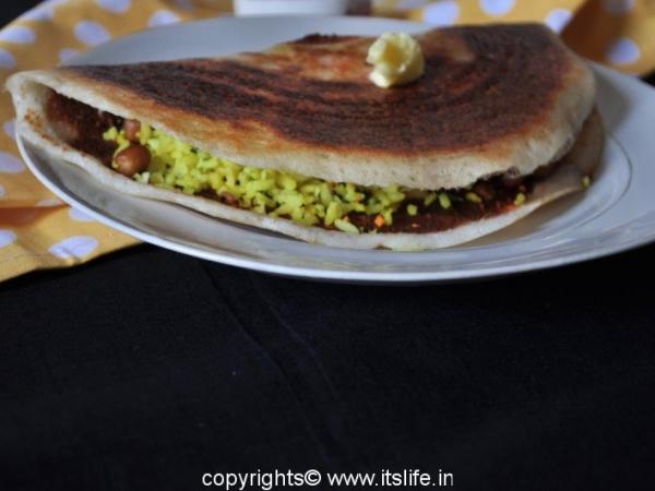 Chitranna Dosa - Pancakes with Lemon Rice