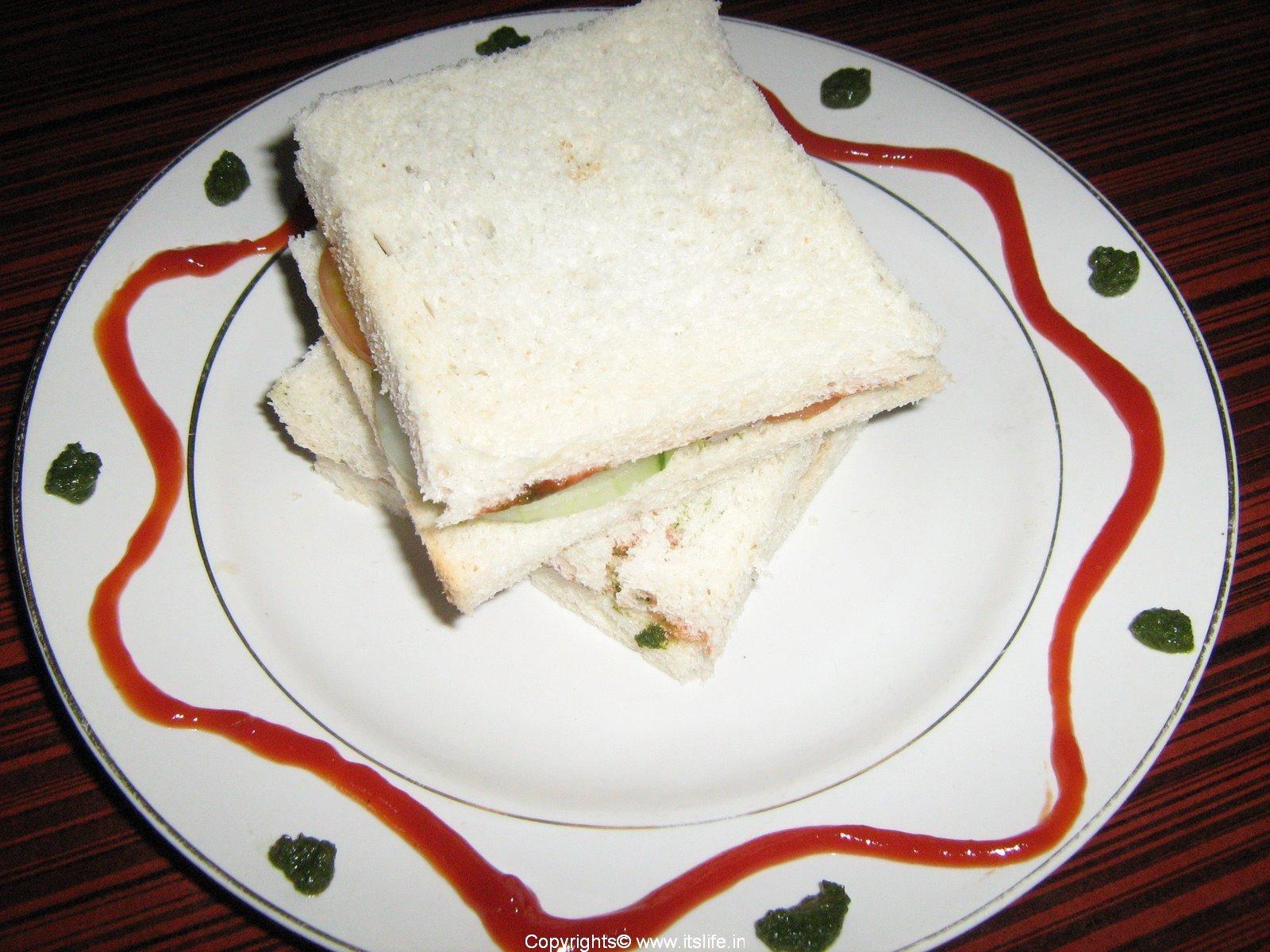 Sandwich Recipe | Bombay Sandwich Recipe | Chutney Sandwich Recipe ...