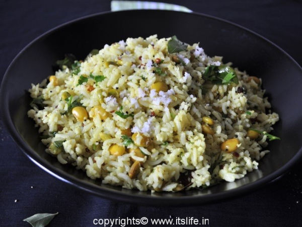 Avarekayi Bhath - Flat Beans Rice