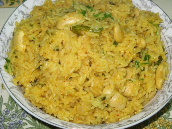 Double Beans Pulao
