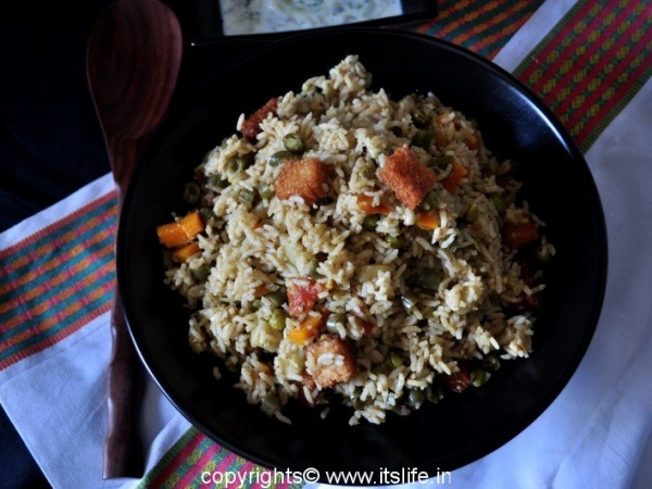 South Indian Pulao