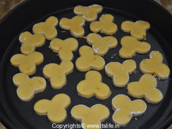Orange Vanilla Cookies