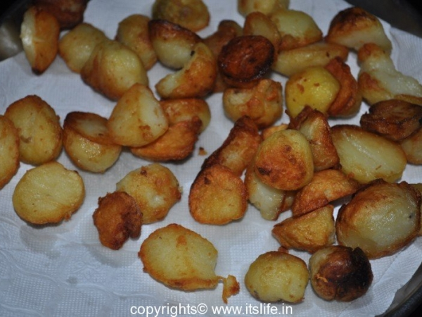 Aloo Chaat Dilli Style