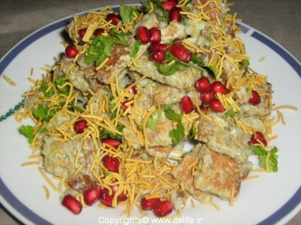 croutons-chaat