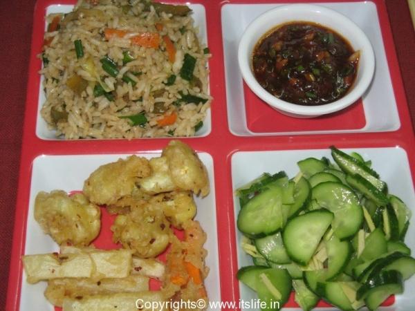 Chinese Thali