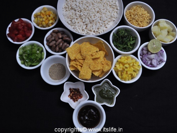 Mexican Bhel Puri Recipe