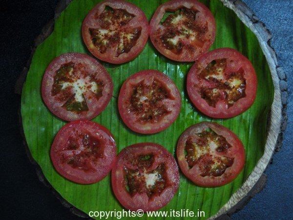 Tomato Chat Recipe