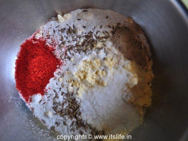 Bhajji ingredients