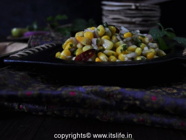 Sweet Corn Mint Chat